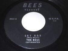 The Bees: Shy Boy / Jadoo 45