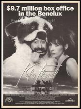 KOKO FLANEL__Original 1990 Trade AD promo / poster__BEA VAN DER MAET__Urbanus