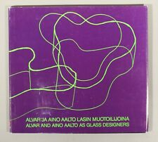 rare Alvar and Aino Aalto as Glass Designers Grönstrand Satu 1988