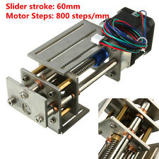 Ball Screw Linear CNC Slide Stroke 50-60mm Long Stage Actuator Stepper Motor