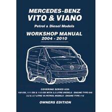 Alte Reparaturanleitungen für Mercedes-Benz Autos