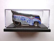 HOT WHEELS LIBERTY PROMOTIONS - HALLOWEEN BLACK WIDOW VW DRAG BUS 543/1000 RARE