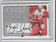 BRETT HULL 2004 ULTIMATE AUTOGRAPH AUTO #1/19 -RED WINGS!!!!