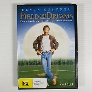 Field Of Dreams DVD Kevin Costner R4 Like New! FREE POST