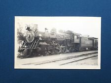 Atchison Topeka & Santa Fe Railway Engine Locomotive No. 550 Antique Photo