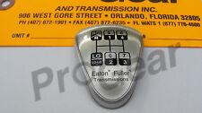 "Genuine Fuller transmission shift knob medallion 8LL Reverse ""H"" Pattern"