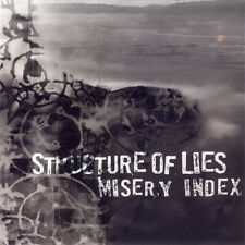 Structure Of Lies & Misery Index CD - SEALED NEW Metal Album