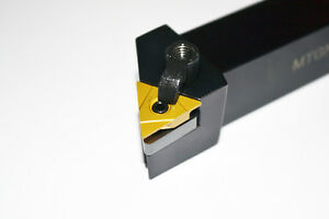 "Lathe Turning Tool 4-1/2"" Long 3/4"" Shank MTGNR12-3B R/H for TN Inserts"