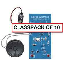 (CLASSPACK OF 10)  ELENCO SP-1A FIRST LEARN TO SOLDER DIY KIT AGES 13+