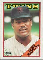 Don Baylor 1988 Topps Baseball Card #545 Minnesota Twins
