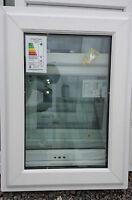 NEW Ex-Sample White Double Glazed UPVC Plastic Windows