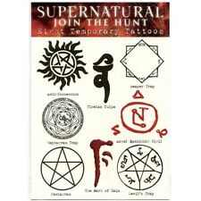 Supernatural Temporary Tattoos