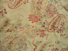 One Lonely Pottery Barn Pillow Sham in Deep Pinks w Covered Button Closure