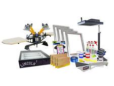 DIY 4 Color Shocker© Semi-Pro Screen Printing Kit - Press Flash Exposure - 42-1