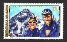 MARSHALL ISLANDS, SCOTT # 702-F, MT. EVEREST,CONQUESTS REACH UNCONQUERED HEIGHTS