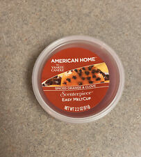 New American Home By Yankee Candle Spiced Orange & Clove Easy MeltCup