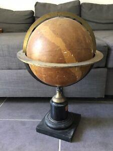 Ancien globe céleste Astronome A Bouvard Grosselin Paris Ch Dien À RESTAURER
