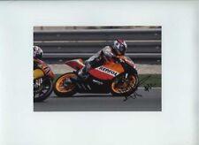 Esteve Rabat Honda 125 Moto GP Quatar 2007 Signed Photograph