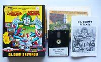 AMSTRAD CPC Disk DR DOOM'S REVENGE! Spider-Man Capt. America MARVEL COMICS 1990