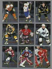 1995-96 SELECT CERTIFIED COMPLETE HOCKEY 144 CARDS SET FREE SHIP