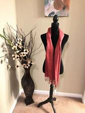 New Burberry $479+tax 100% Cashmere Blush pink Scarf