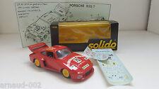 Solido - 1032 - Porsche 935 T Le Mans 1979 ancienne en boîte 1/43