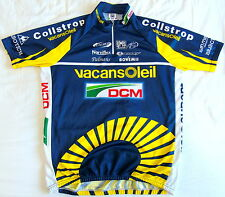 EXCELLENT CONDITION VACANSOLEIL TEAM JERSEY. SANTINI XXL (SIZE 6)