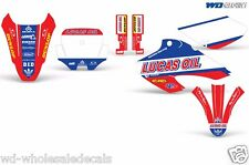 Decal Graphics for Honda XR80-XR100 Dirtbike MX Wrap Motocross Deco 2001-2003 XX