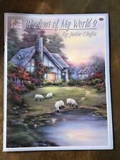 Windows Of My World Painting Book #9 Jackie Claflin- Sceneries Animals Templates