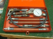 Vintage Snap On Tools Kra124a Compression Test Kit With Box