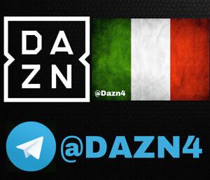 DAZN ITA €2.50 SOLO SU TELEGRAM: @DAZN4