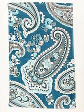 3 PC SET BATH COLLECT. TEAL,BLUE,WHITE,BEIGE PAISLEY BATH+HAND+WASH CLOTH TOWEL