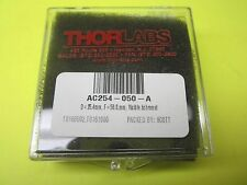 NEW THORLABS AC254-050-A Unmounted Visible Achromat, D=25.4mm F=50mm