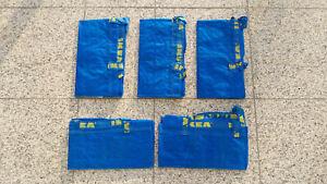 5x IKEA FRAKTA, Tasche groß, blau, 71l bis 25kg für Leergut, Umzug, Wäsche etc.