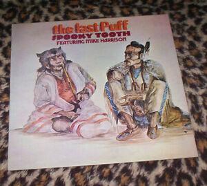 SPOOKY TOOTH ~ LAST PUFF. Orig UK 1970 vinyl LP. Pink Island label. M-/EX..