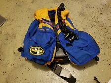 New listing Vintage Dacor Yellow and Blue BCD Jacket Buoyancy Compensator