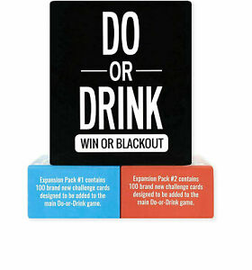 Do or Drink Party Card Drinking Fun Games Fast Free Delivery AU Local Stock SALE