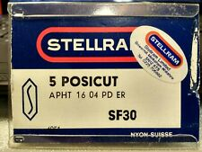 5x Stellram Carbide Milling Inserts APHT1604PDER  SF30