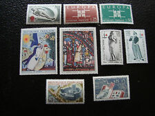 FRANCE - timbre yvert et tellier n° 1395 a 1403 n** (A17) stamp french
