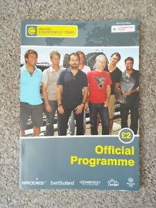 Champions of Tennis Official Programme - Edinburgh 2013 (signed)