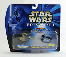 STAR WARS MOC ~ Episode 1 Pod Racer Pack IV 4 Micro Machines NEW 1999