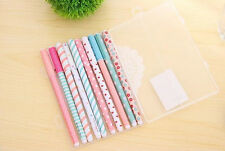 Korean Watercolor Pen Gel Pens Set Color Kandelia Cute Little Stationery 10PCS