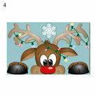 Wall Stickers Merry Christmas Window Decoration Xmas Home Ornaments Removable