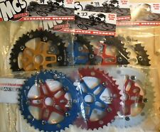 MCS BMX 110 CHAINRING USA MADE CNC 42T BLACK