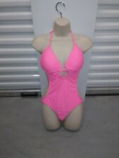 Body Glove Bathing Suit Hot Pink One Piece Size M