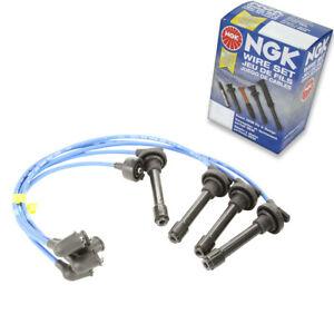 1 pc NGK Spark Plug Wire Set for 1992-1997 Honda Accord 2.2L L4 - Engine Kit gn
