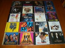 HUGE MOVIE SOUNDTRACK CD COLLECTION x 20 albums