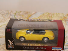 YAT MING 1/43 FORD THUNDERBIRD 2000 YELLOW ART.92243-A NEW