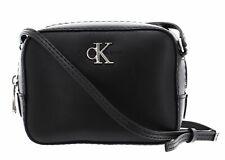 Calvin Klein CKJ Monogram Hardware Camera Bag Umhängetasche Tasche Black