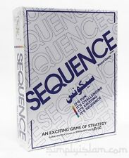 Sequence in Arabic Board Game  Islam Childrens Toys GIFTS